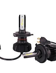 Недорогие -2pcs H4 / P43T Автомобиль Лампы 180 W Интегрированный LED 18000 lm 4 Светодиодная лампа Налобный фонарь For Volkswagen / Toyota / Honda Fit / CR-V / Bora Все года