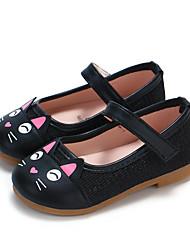 abordables -Fille Chaussures Tricot / Polyuréthane Printemps été Confort / Chaussures de Demoiselle d'Honneur Fille Ballerines Marche Scotch Magique pour Enfants Or / Noir / Rose
