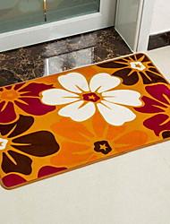 baratos -1pç Clássico / Casual Tepetes de Banheiro Algodão Geométrica / Floral Retângular Novo Design / Criativo