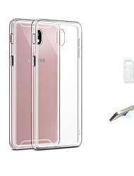 economico -Custodia Per Samsung Galaxy J3 (2017) Transparente Per retro Tinta unita Morbido TPU per J3 (2017)