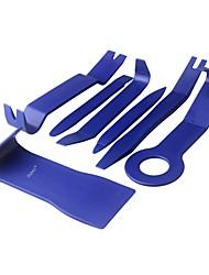 Недорогие -ziqiao 7 шт. / компл. инструмент для удаления обшивки автомобильная панель двери аудио инструмент для удаления обрезки авто зажим клещи набор для снятия крепежа pry набор инструментов