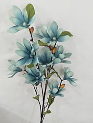 Недорогие -Искусственные Цветы 1 Филиал Классический Деревня Орхидеи Букеты на пол