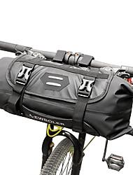 billiga -ROSWHEEL 3-7 L Väska till cykelstyret Vattentät, Justerbara, Kompakt Cykelväska TPU Cykelväska Pyöräilylaukku Cykling / Reflexremsa