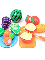 cheap -Pretend Play Food Fruit Parent-Child Interaction Plastic Shell Preschool Boys' Girls' Toy Gift 10 pcs