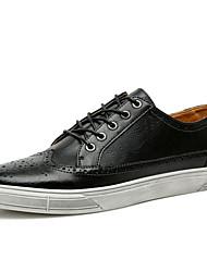cheap -Men's PU(Polyurethane) Summer Comfort Sneakers Dark Blue / Brown / Light Grey