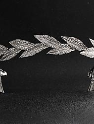baratos -Liga Headbands com Cristais 1 Peça Casamento / Roupa Diária Capacete