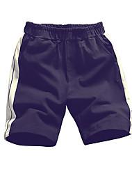 povoljno -muške plus veličine pamuk labav chinos / kratke hlače - boja blok / prugasta