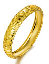 Недорогие -Жен. Через плечо Браслет цельное кольцо - Позолота Браслеты Золотой Назначение Для вечеринок