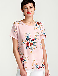 cheap -Women's Blouse - Floral Print / Summer / Floral Patterns