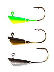 economico -5 pcs Gancio-coda sottile Pesca di mare / Pesca a mosca / Pesca a mulinello Amo jig