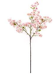 abordables -Fleurs artificielles 1 Une succursale Classique Moderne / Contemporain / Style Simple Fleurs éternelles Arbre de Noël