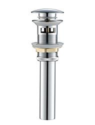 Недорогие -Аксессуары к смесителю - Высшее качество - Современный Латунь Всплывающая вода с переполнением - Конец - Хром