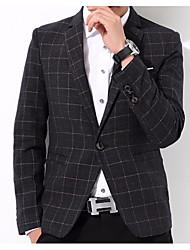 cheap -Men's Basic Suits - Plaid / Checkered