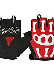 billiga -ROCKBROS Half-finger Unisex Motorcykel Handskar Nylon / poly uretan Andningsfunktion / Slitsäker / Non Slip