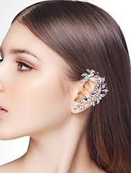 baratos -Mulheres Fashion Punhos da orelha - Strass Criativo, Espigão Estiloso, Elegante, Oversized Prata Para Noite & ocasião especial Mascarilha