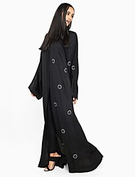 cheap -BENEVOGA Women's Street chic / Sophisticated Abaya - Solid Colored / Circle, Oversized