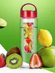 Недорогие -Drinkware Пластик Бутылки для воды / Бокал / шейкер бутылки Компактность / Плавающий / Boyfriend Подарок 1 pcs