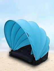 preiswerte -1 Person Strandzelt Eine Schicht Automatisch Camping Zelt Außen Leicht, Windundurchlässig, Atmungsaktivität für Strand <1000 mm Lycra Spandex 50*50*50 cm