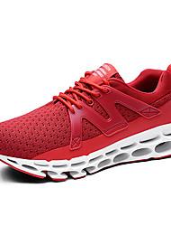 abordables -Homme Chaussures de confort Tricot Printemps Sportif / Décontracté Chaussures d'Athlétisme Course à Pied Massage Blanc / Noir / Rouge