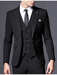 cheap -Men's Basic Suits - Solid Colored