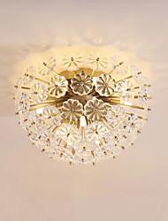 cheap -QIHengZhaoMing 8-Light Flush Mount Ambient Light 110-120V / 220-240V, Warm White, Bulb Included