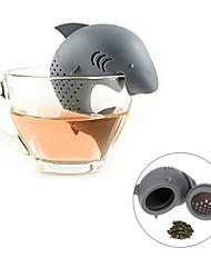 Недорогие -Силикон Чайный Животный принт 1шт Фильтры / Ситечко для чая