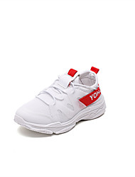 cheap -Boys' / Girls' Shoes Knit Summer Light Soles Athletic Shoes Running Shoes / Track & Field Shoes Lace-up / Split Joint for Kids White / Black / Pink / Booties / Ankle Boots