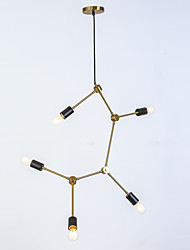 abordables -Ecolight™ 5 lumières Spoutnik / Nouveauté Lustre Lumière d'ambiance - Design nouveau, Créatif, Ajustable, 110-120V / 220-240V Ampoule non incluse
