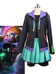 economico -Ispirato da LOL Cosplay Anime Costumi Cosplay Abiti Cosplay Altro Manica lunga Cappotto / Top / Gonna Per Unisex