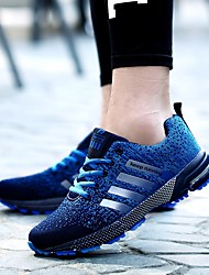 preiswerte -Herrn / Damen Sneaker MD (Phylon) Walking / Laufen / Jogging Atmungsaktivität, Dehnbar, Komfortabel Gestrickt Grün / Blau / Grau