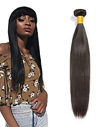 cheap -Peruvian Hair Straight Gifts / Natural Color Hair Weaves / Tea Party Favors 6 Bundles 8-28 inch Human Hair Weaves Soft / Hot Sale / Thick Natural Black Human Hair Extensions Women's