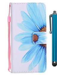 cheap -Case For Sony Xperia XZ2 Compact / Xperia XZ2 Wallet / Card Holder / with Stand Full Body Cases Flower Hard PU Leather for Sony Xperia XZ2 / Sony Xperia XZ2 Compact / Xperia XZ1 Compact