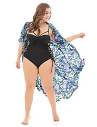 cheap -Women's Cover-Up - Floral Briefs