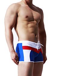 cheap -Men's Swimming Trunks / Swim Shorts Breathable, Compression, Comfortable Nylon / Spandex Swimwear Beach Wear Swimming / High Elasticity