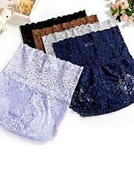 abordables -Mujer Short y Slip de Chico Bordado Alta cintura