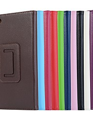 cheap -Case For Lenovo Tab 7 Essential / Lenovo Tab 4 7 Essential with Stand / Magnetic Full Body Cases Solid Colored Hard PU Leather for Lenovo Tab 7 Essential / Lenovo Tab 4 7 Essential