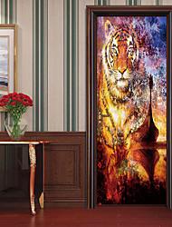 economico -Adesivi decorativi da parete / Adesivi per porte - Adesivi aereo da parete Religioso e spirituale / 3D Salotto / Camera da letto
