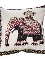 cheap -1 pcs Cotton / Linen Pillow, Pattern / Animal Animals / Artistic Style