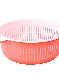 cheap -Kitchen Tools Plastics Creative Kitchen Gadget Cleaning Tools / Fruit Basket Multifunction / Fruit / Vegetable 2pcs
