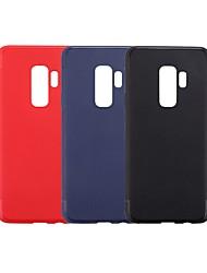 ieftine -Maska Pentru Samsung Galaxy S9 Plus / S9 Ultra subțire Capac Spate Mată Moale TPU pentru S9 / S9 Plus / S8 Plus