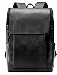 Недорогие -Универсальные Мешки ПВХ рюкзак Молнии Черный