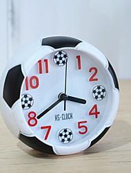 Недорогие -часы настольные часы современный / современный пластик&металлический круглый