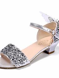 economico -Da ragazza Scarpe PU (Poliuretano) Estate Scarpe da cerimonia per bambine / Tacchi Piccoli per adolescenti Sandali per Argento