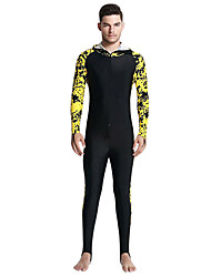 cheap -SBART Men's Rash Guard Dive Skin Suit SPF50, UV Sun Protection, Quick Dry Tactel Full Body Swimwear Beach Wear Diving Suit Front Zip Diving / Breathable / Breathable