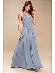 preiswerte -Damen Hülle Kleid Maxi