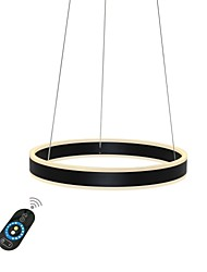 Недорогие -UMEI™ Круглый Люстры и лампы Рассеянное освещение - Диммируемая, 110-120Вольт / 220-240Вольт, Теплый белый / Белый / Диммируемый с дистанционным управлением, Лампочки включены