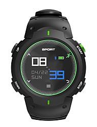 Недорогие -NO.1 F13 Смарт Часы Android iOS Bluetooth Водонепроницаемый Пульсомер Измерение кровяного давления Сенсорный экран / Израсходовано калорий / Длительное время ожидания / Секундомер / Педометр
