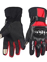 economico -RidingTribe Dita intere Unisex Guanti moto Acciaio inossidabile / microfibra / Cotone Schermo touch / Ompermeabile / Tenere al caldo