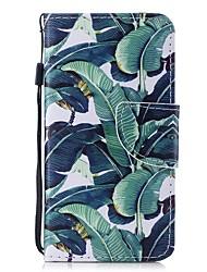 Недорогие -Кейс для Назначение Apple iPhone 6 / iPhone 6s Кошелек / Бумажник для карт / Флип Чехол дерево Твердый Кожа PU для iPhone 6s / iPhone 6