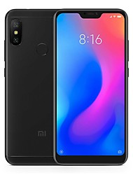 "Недорогие -Xiaomi A2 Lite Global Version 5.84 дюймовый "" 4G смартфоны (4GB + 64Гб 5 mp / 12 mp Qualcomm Snapdragon 625 4000 mAh mAh)"